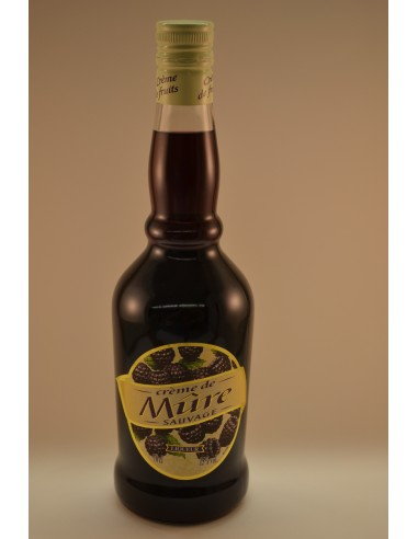 70CL CREME MURE U 15° - Alcools apéritifs & digestifs