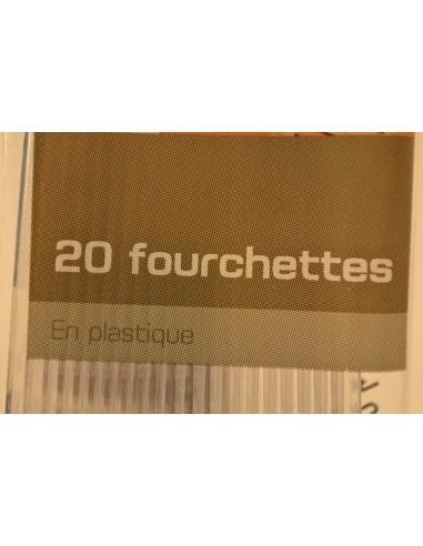 FOURCH.U MAI.PLAST.TRANSP.X20 - Cuisines & Vaisselles