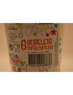 X6 GOB.MELI.MELO ANNIV.25CL - Cuisines & Vaisselles