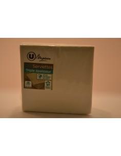 X50 SERV. 24X24CM BLC U.MAISON - Cuisines & Vaisselles