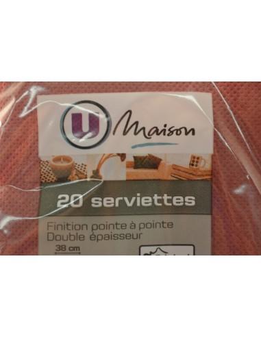 SERV.U MAI.38X38 BRDX X20 - Cuisines & Vaisselles