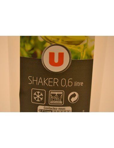 SHAKER GRADUE U 0.6L VERT - Cuisines & Vaisselles