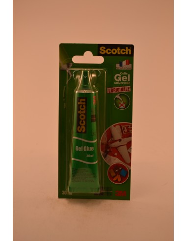 TUBE COLLE GEL SCOTCH 30ML - Papeterie - Fournitures & Jeux
