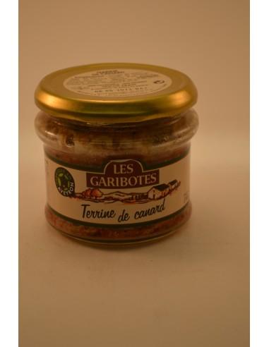 180G TERRINE CANARD  GARIBOTE - Conserves & Bocaux