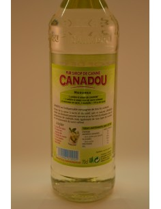 70CL SUCRE CANNE CANADOU - Alcools apéritifs & digestifs