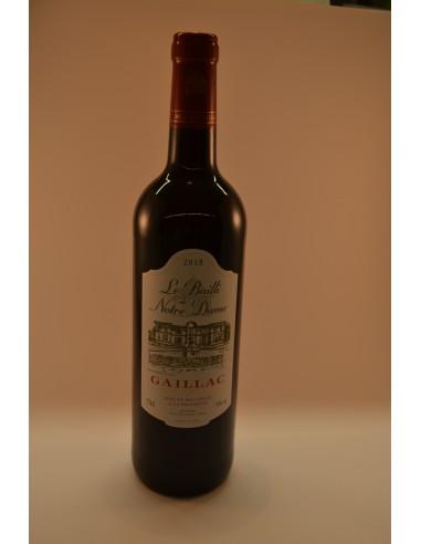 GAILLAC RGE BAILLI U 75CL - Vins & Champagne