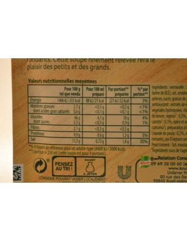 POT.DESHY.POULE.VERMICEL.KNORR - Soupes & Croutons
