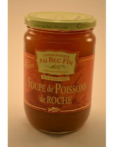 SOUPE DE POISSON DE ROCHE 66CL - Soupes & Croutons