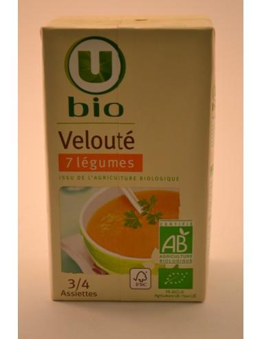 VELOUTE 7 LEGUMES U BIO 100CL - Soupes & Croutons