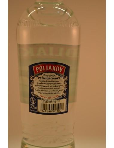 70CL VODKA POLIAKOV NATU 37.5° - Alcools apéritifs & digestifs