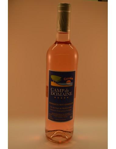 Cuvée CAMP DU DOMAINE ROSE VDP - Vins & Champagne