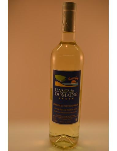 Cuvée CAMP DU DOMAINE BLANC VDP - Vins & Champagne