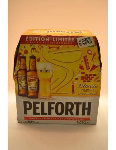 BIERE PELFORTH BLDE5,8° 6X25CL - Bières