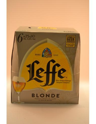 6X25CL BIERE LEFFE BLONDE - Bières