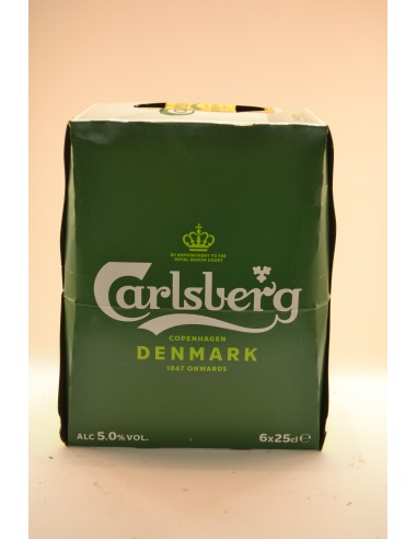 6X25CL CARLSBERG - Bières