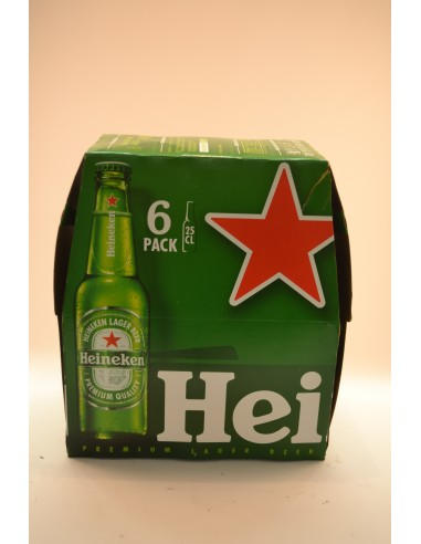 BIERE HEINEKEN BLE 6X25CL - Bières