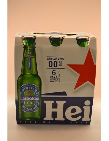 BIERE S/ALCOOL HEINEKEN 6X25CL - Bières