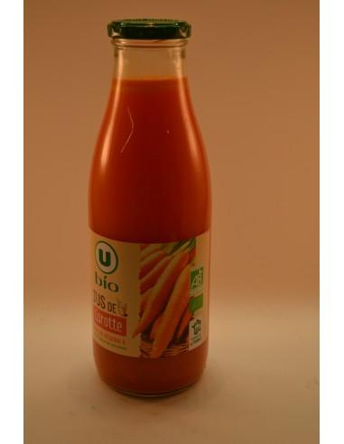JUS CAROTTES U BIO BOCAL 75CL - Jus de fruits & Légumes