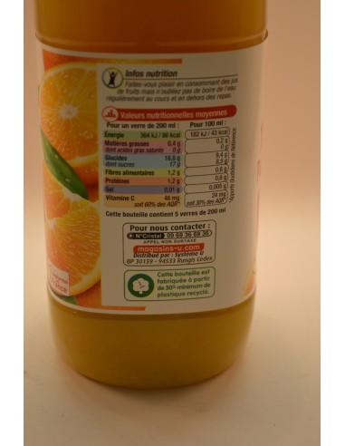 P/JUS/ORANGE AV.PULPE U PET 1L - Jus de fruits & Légumes