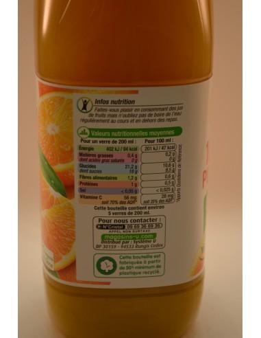 P/JUS ORANGE SS.PULPE U PET 1L - Jus de fruits & Légumes