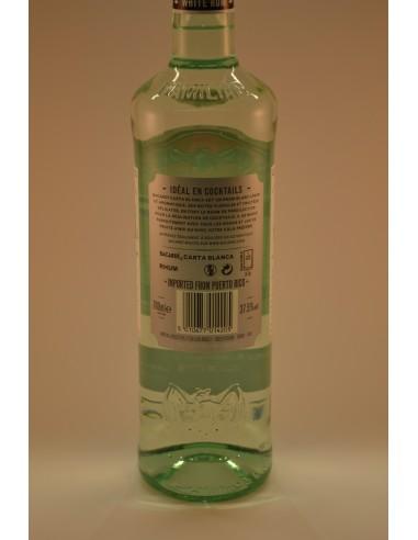 70CL RHUM BLANC BACARDI 37.5° - Alcools apéritifs & digestifs