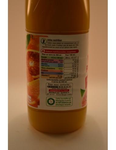 PUR JUS 4 AGRUMES U PET 1L - Jus de fruits & Légumes