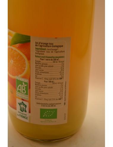 PUR JUS ORANGE U BIO BOCAL 1L - Jus de fruits & Légumes