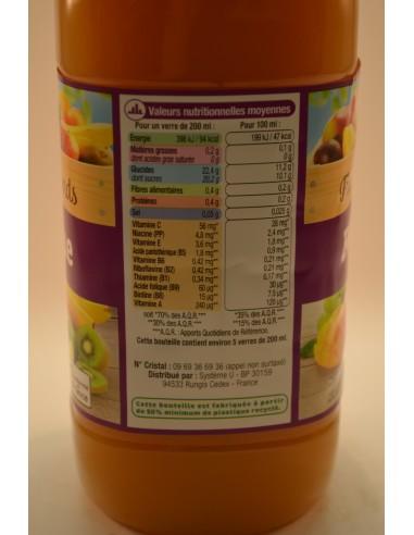 1L NECTAR EXOTIQUE 10VITAMIN U - Jus de fruits & Légumes