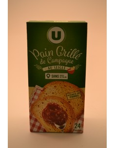 240G PAIN GRILLE DE CAMPAGNE U - Petits déjeuners