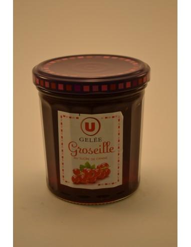370G GELEE DE GROSEILLES U - Petits déjeuners