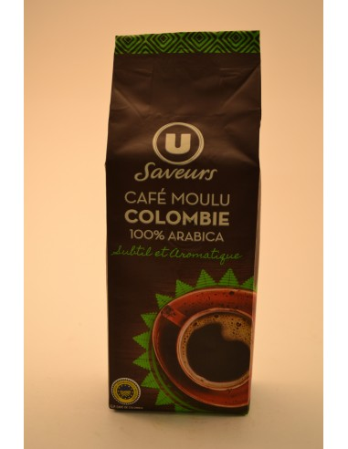 CAFE MOULU COLOMBIE U SAV.250G - Cafés