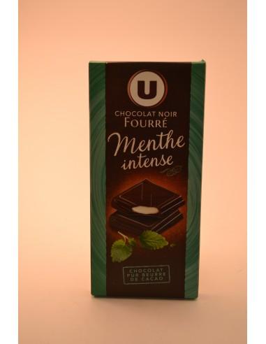 150G CHOCO.NR FOURRE MENTHE U - Chocolats