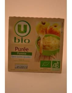 PUREE DE POMMES U BIO 4X100G - Desserts