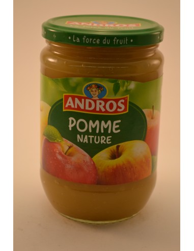660G COMPOTE POMME ANDROS - Desserts