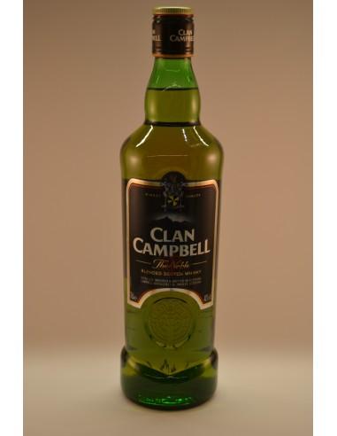 70CL WHISKY CLAN CAMPBELL 40° - Alcools apéritifs & digestifs