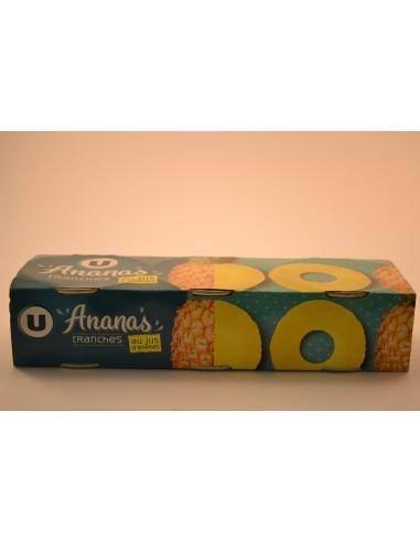3X1/4 ANANAS PUR JUS TR.ENT.U - Desserts