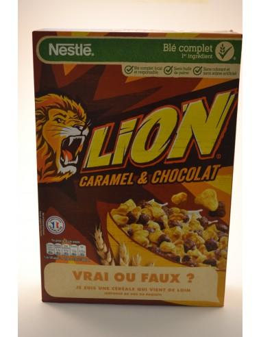 480G CEREALES LION NESTLE - Poudres chocolatées