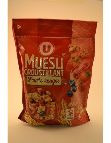 MUESLI CROUST.FRTS RGES U 500G - Poudres chocolatées