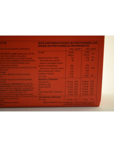400G TRESOR CHOC NOISETT KELLO - Poudres chocolatées