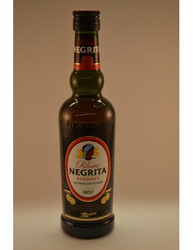 50CL RHUM AMBRE NEGRITA 40° - Alcools apéritifs & digestifs