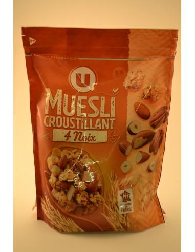 MUESLI CROUSTIL.4 NOIX U 500G - Poudres chocolatées