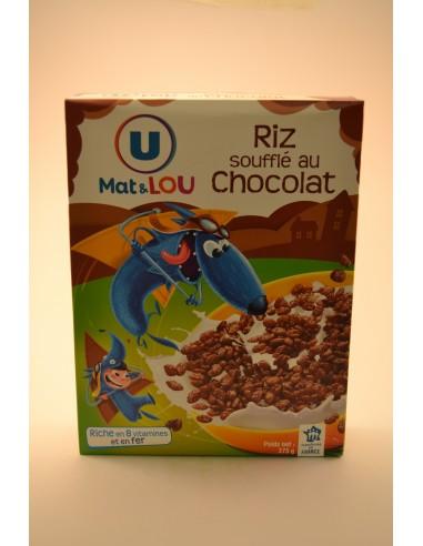 375G RIZ SOUFFLE CHOCOLAT U - Poudres chocolatées