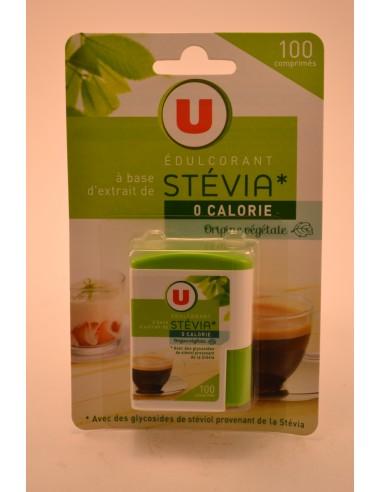 EDULCORANT STEVIA U X100 CPR - Sucres & farines