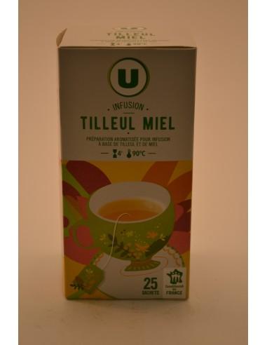 40G 25XINFUSION TILLEUL MIEL U - Thés