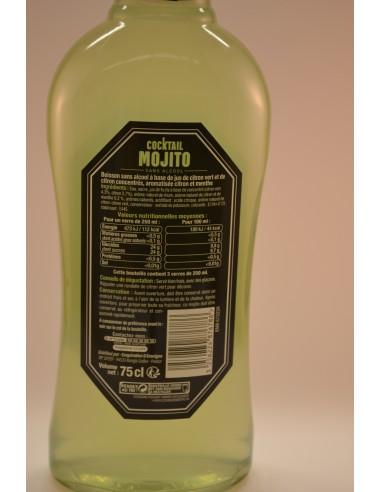 75CL COCKTAIL S/ALC. MOJITO U - Alcools apéritifs & digestifs
