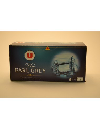 25 SACHETS THE EARL GREY U - Thés