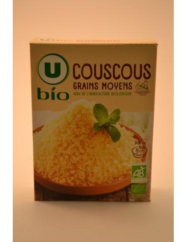 COUSCOUS MOYENS U BIO 500G - Pâtes - Riz & Féculents