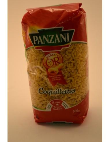 500G COQUILLETTES   PANZANI - Pâtes - Riz & Féculents