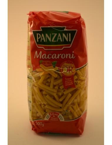 500G MACARONIS COUPES PANZANI - Pâtes - Riz & Féculents