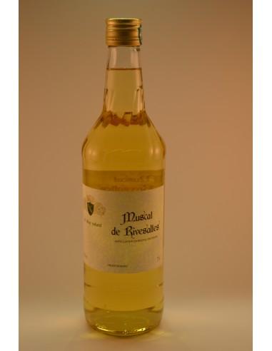 MUSCAT RIVESALTE 15°5 PPX 75CL - Alcools apéritifs & digestifs